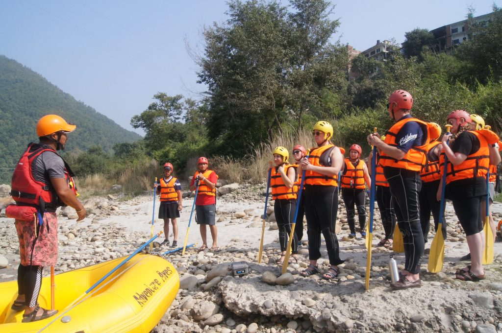 Trisuli River Rafting Nepal